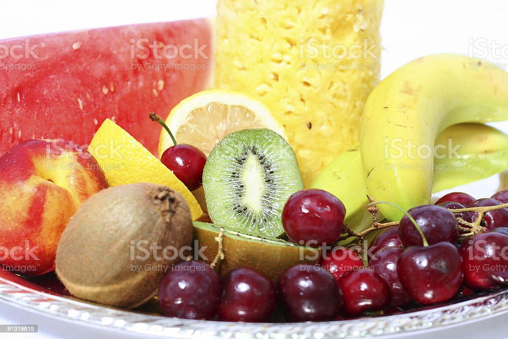 Fresh fruits 4 royalty-free stock photo