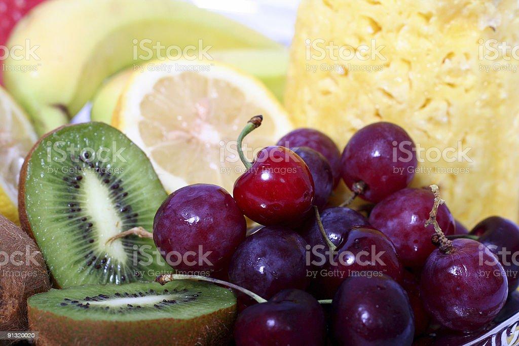 Fresh fruits 5 royalty-free stock photo