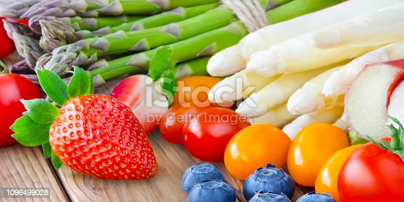 istock Fresh Fruits and Vegetables 1096499028