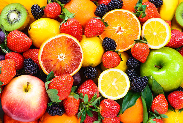 fresh fruits. - fruit stock photos and pictures