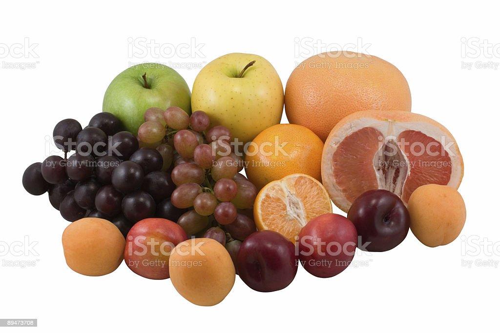 Fresh fruits royalty-free stock photo