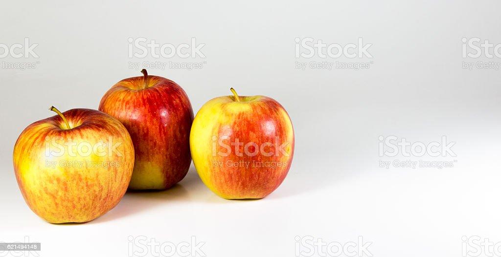 Frische Gala Äpfel Lizenzfreies stock-foto