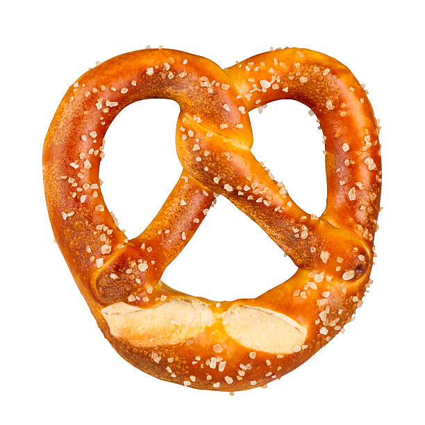 fresh german pretzel - german culture stock pictures, royalty-free photos & images