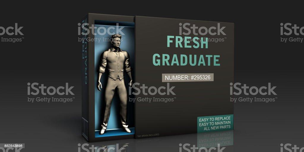 Fresh Graduate stock photo