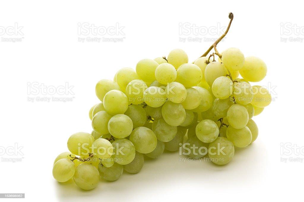 Fresh grape fuits isolated on white background royalty-free stock photo
