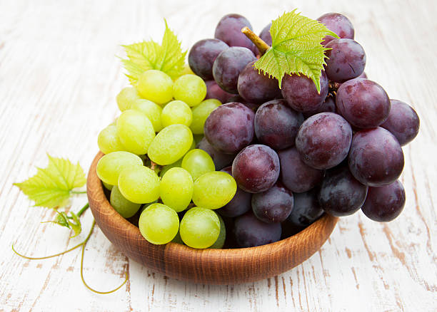 Fresh grape stock photo