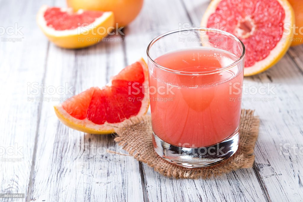Fresh Grapefruit Juice stock photo