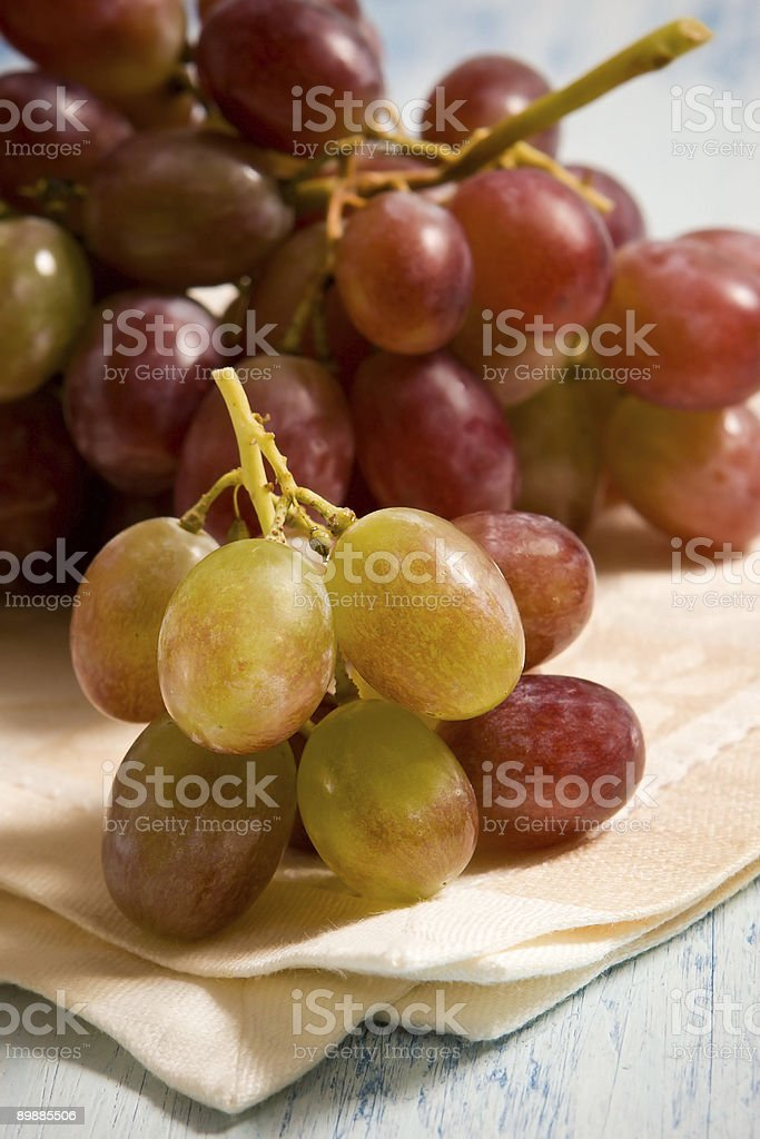 Fresca uvas foto de stock libre de derechos