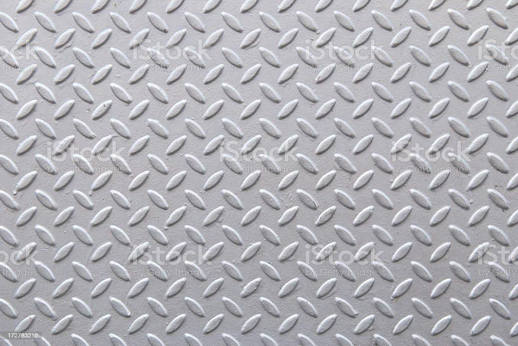 Fresh Gray Diamond Steel Tread Background royalty-free stock photo