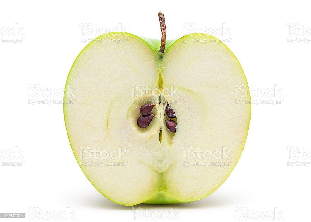 新鮮なグリーンアップル ストックフォト