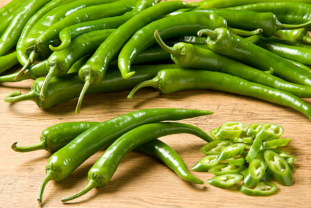 Royalty Free Green Chili Pepper Pictures, Images and Stock ...