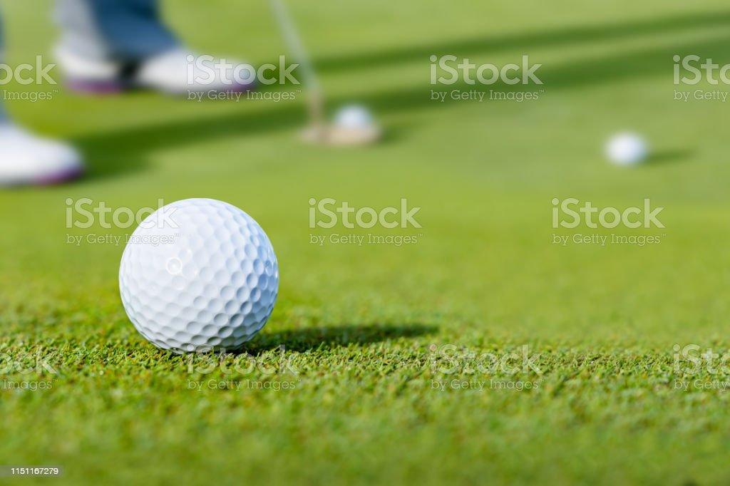 Fresh green golf course