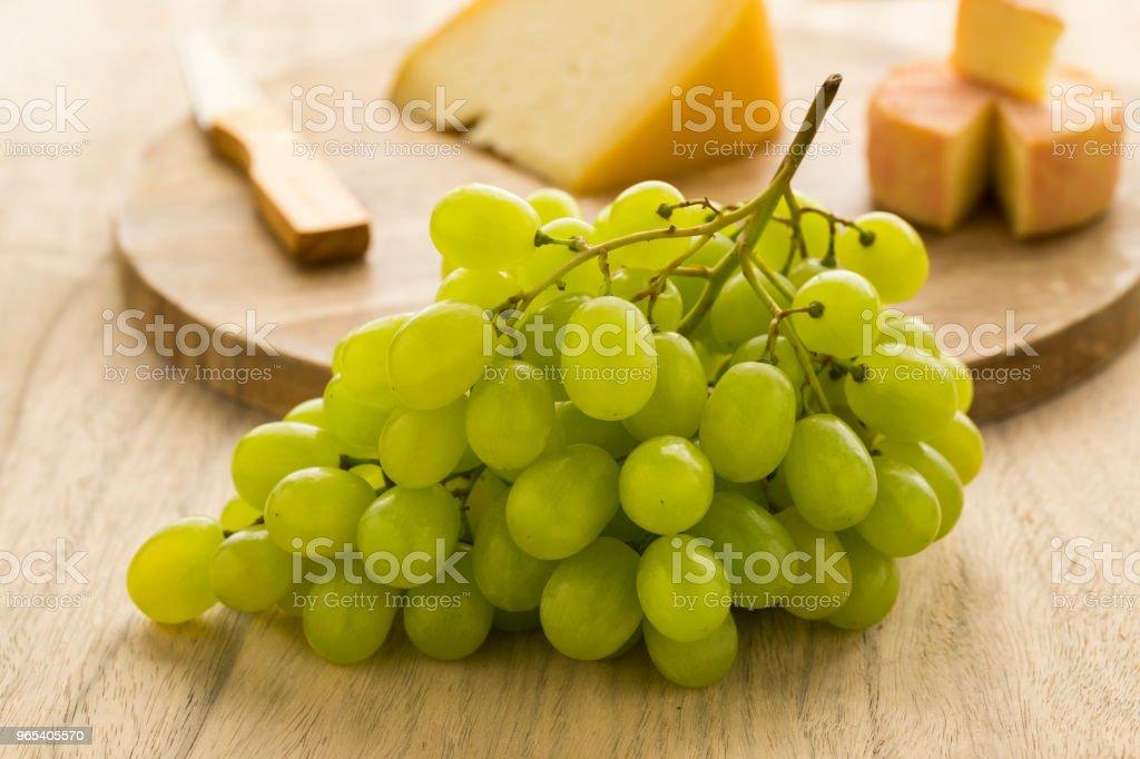 Frische grüne Trauben - Lizenzfrei Bund Stock-Foto