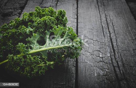 istock Fresh green organic kale leaf 1044809282