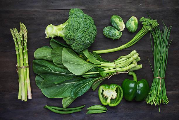 Vert frais et légumes biologiques - Photo