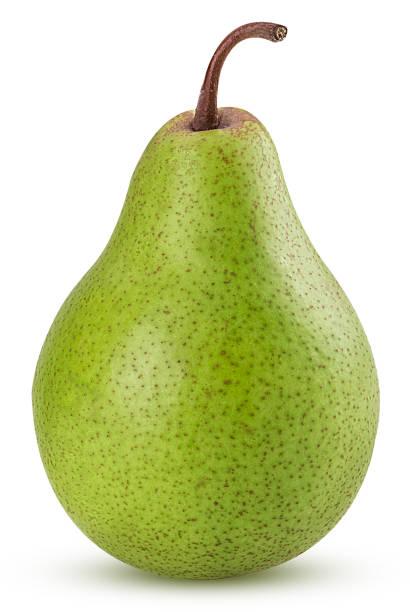fresh green pears - pera foto e immagini stock