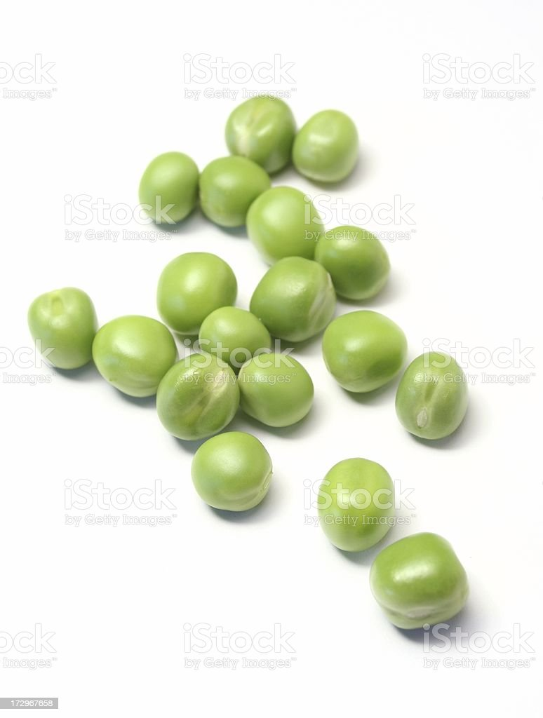 Fresh Green Peas stock photo
