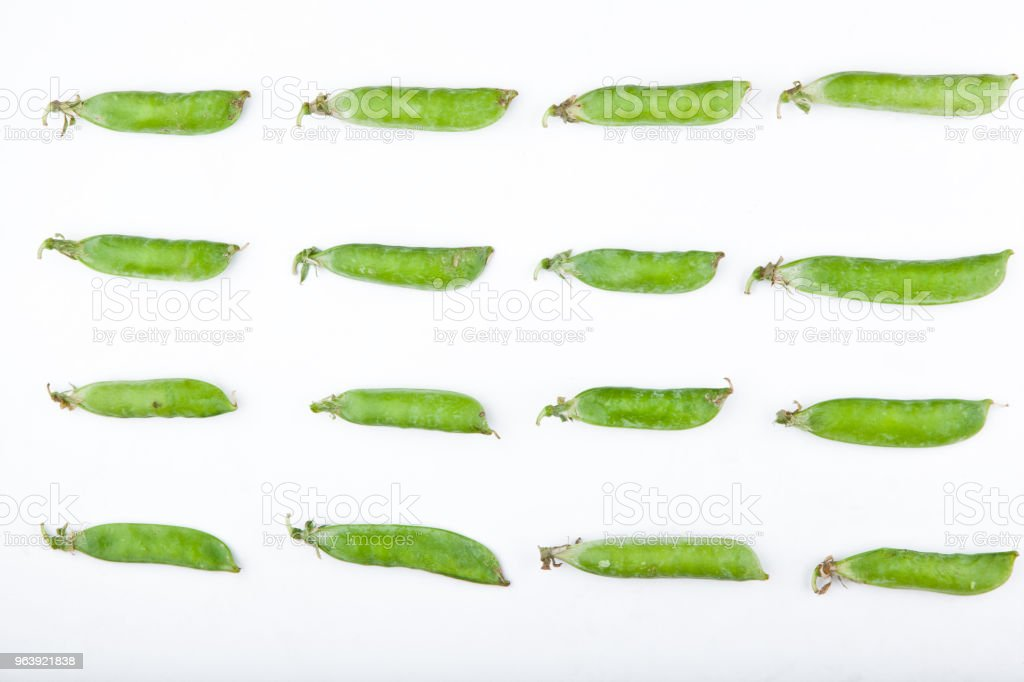 Fresh Green Peas Studio - Royalty-free Agriculture Stock Photo