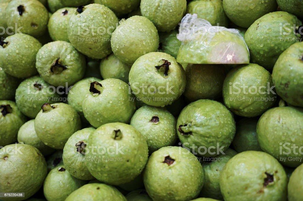 Fresh guava royalty-free stock photo
