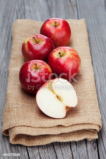 1020586746istockphoto Fresh harvest of apples 484576946