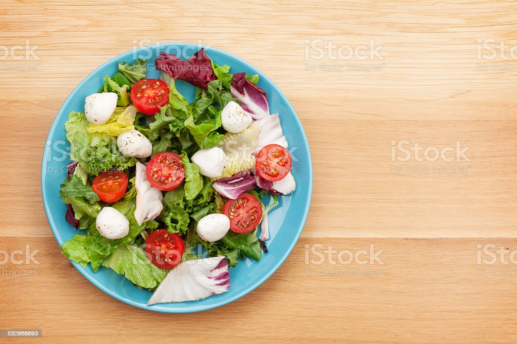Fresh healthy salad stock photo