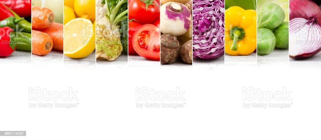 Fresh Healthy Vegetables stock photo