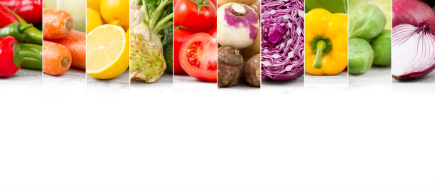 fresh healthy vegetables - pepper vegetable stock photos and pictures