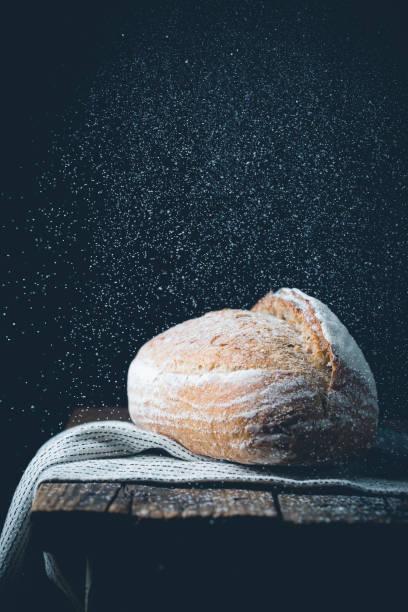 Frisches hausgemachtes Brot – Foto
