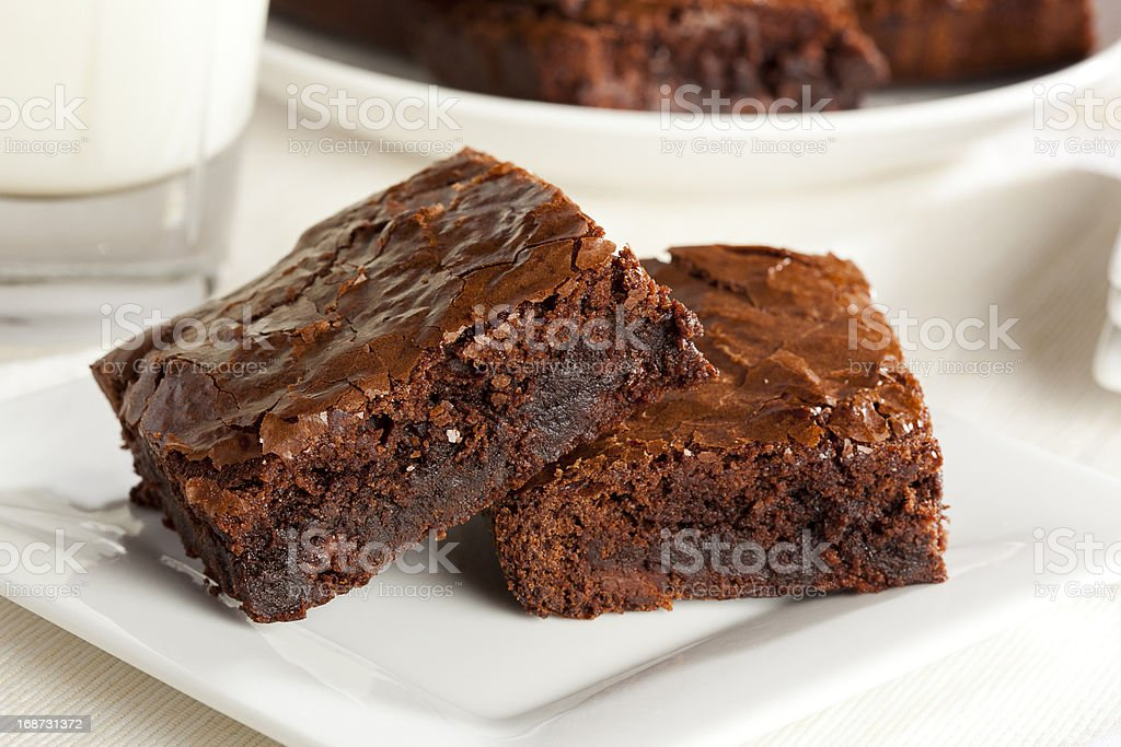 Brownie au chocolat faits maison - Photo