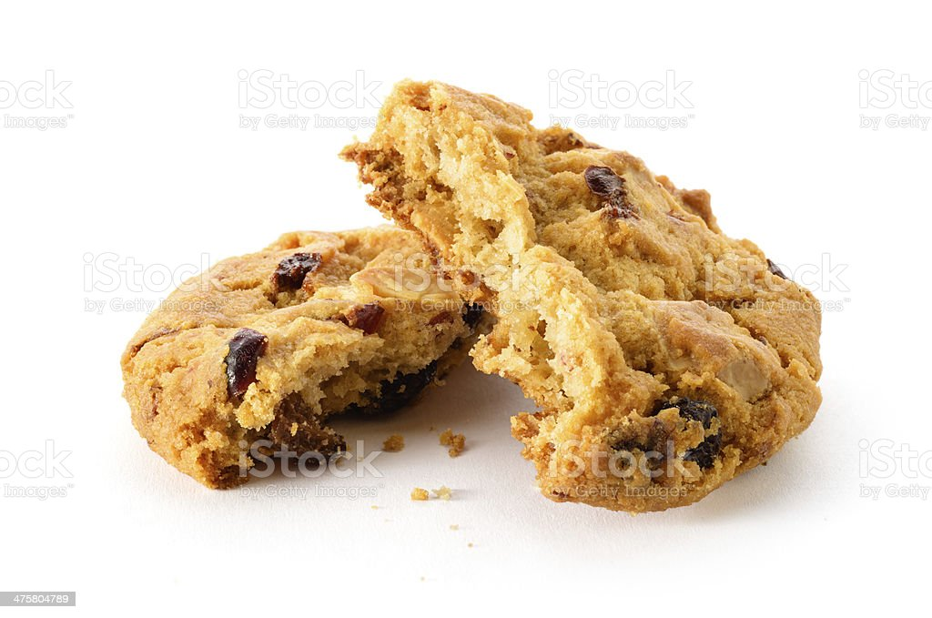 Fresh homemade cookie stock photo
