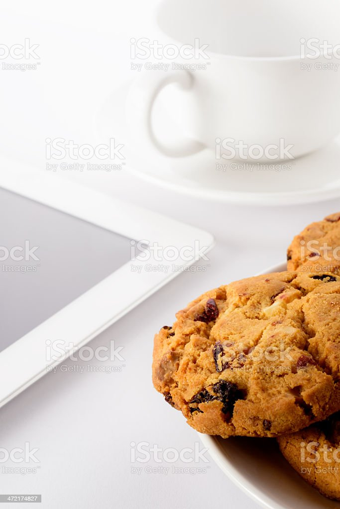 Fresh homemade cookies royalty-free stock photo