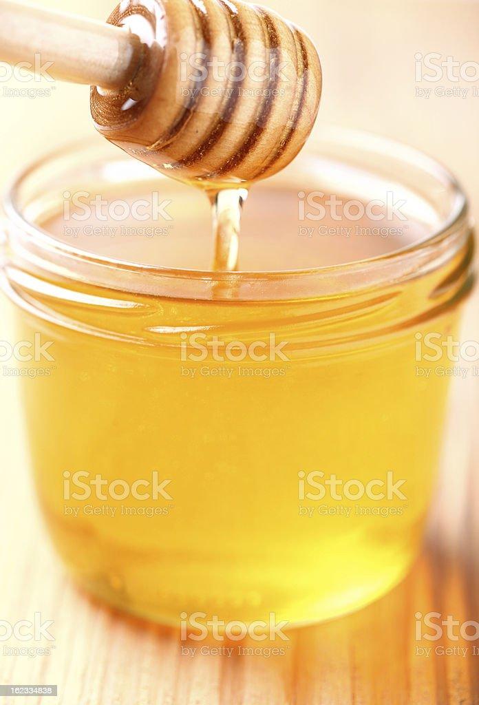 Fresh honey royalty-free stock photo