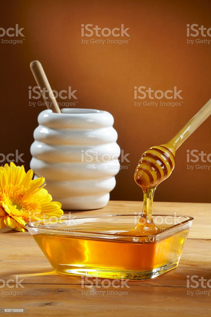 Fresh honey royalty-free stock photo