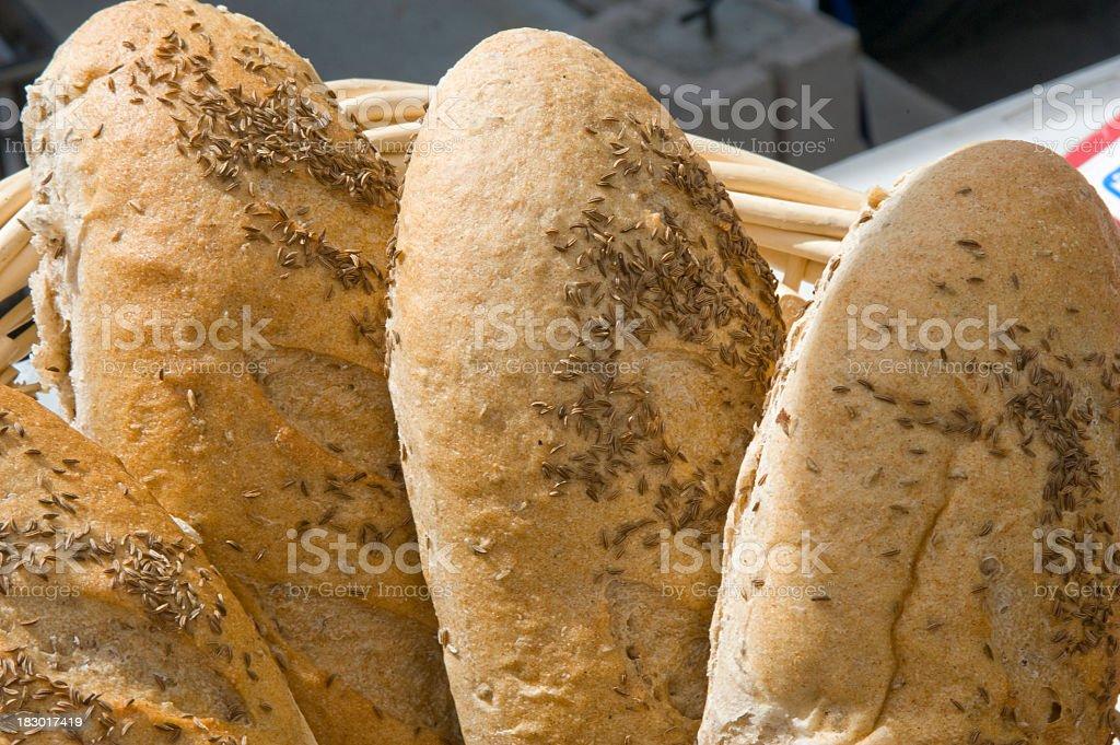 Fresh Hot Bread stock photo