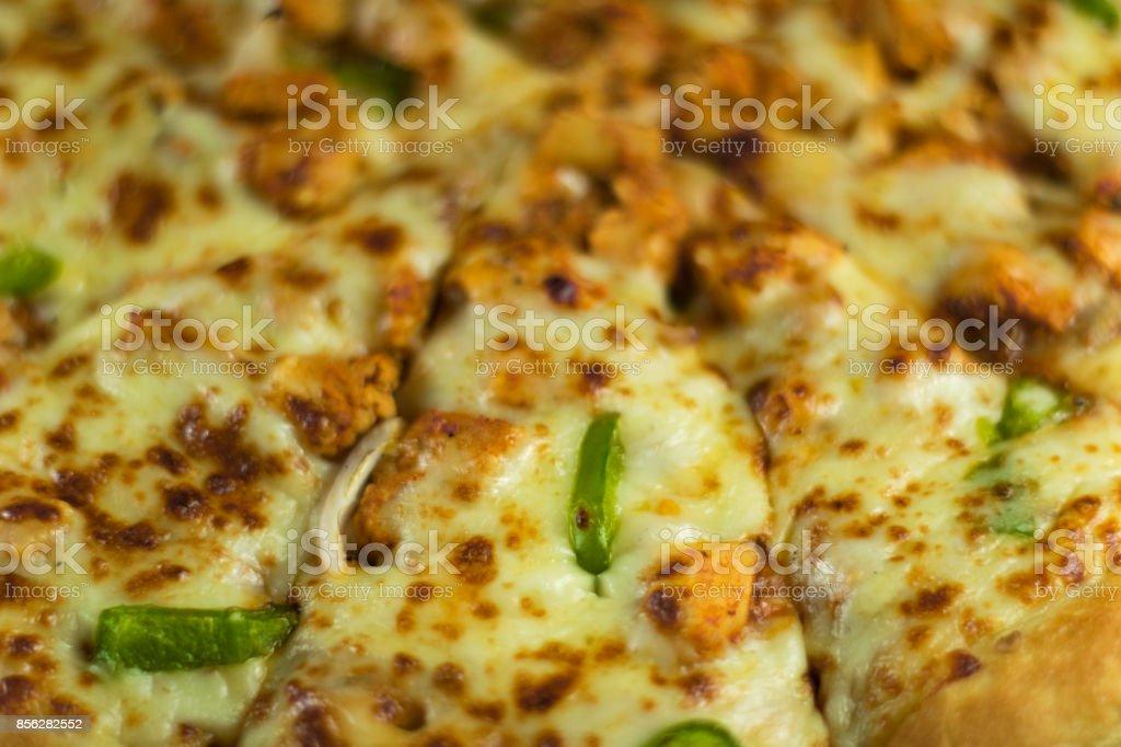 Fresh Hot Pizza Fajita close stock photo
