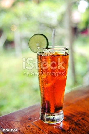 Fresh ice tea