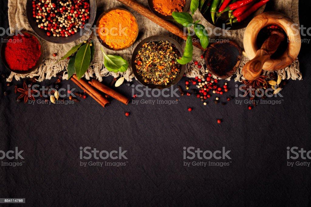 Fresh ingredients stock photo
