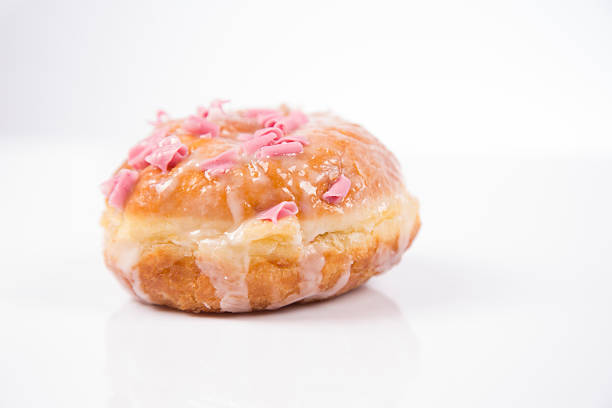 Fresh isolated donuts