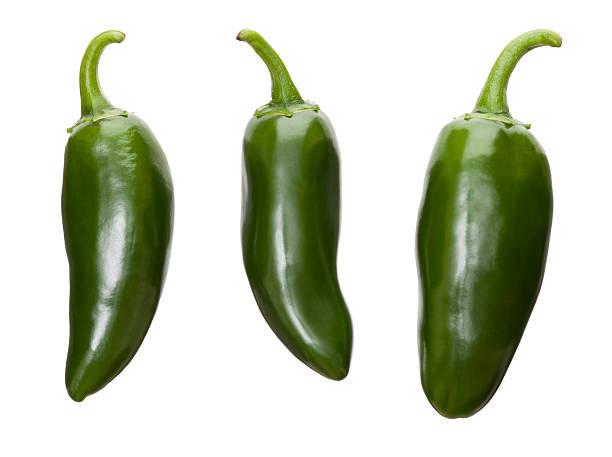 Fresh Jalapenos stock photo