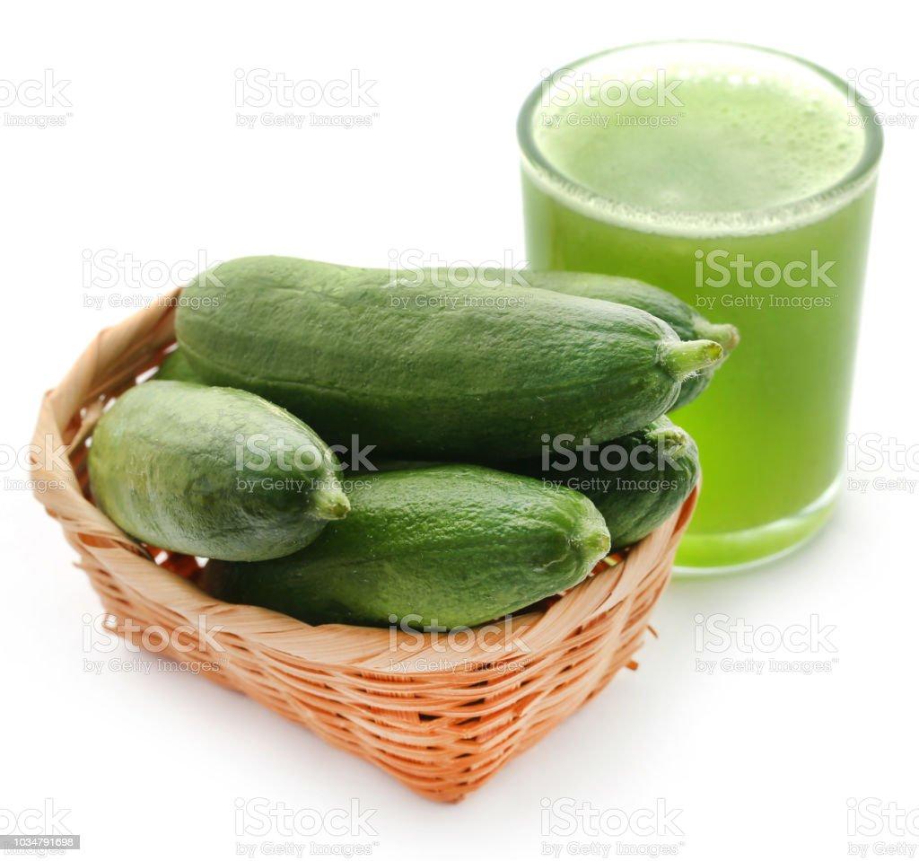 Jus de concombre vert - Photo