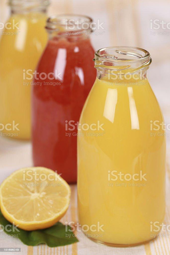 Fresh juices royalty-free stock photo