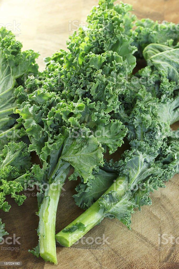 Fresh kale royalty-free stock photo