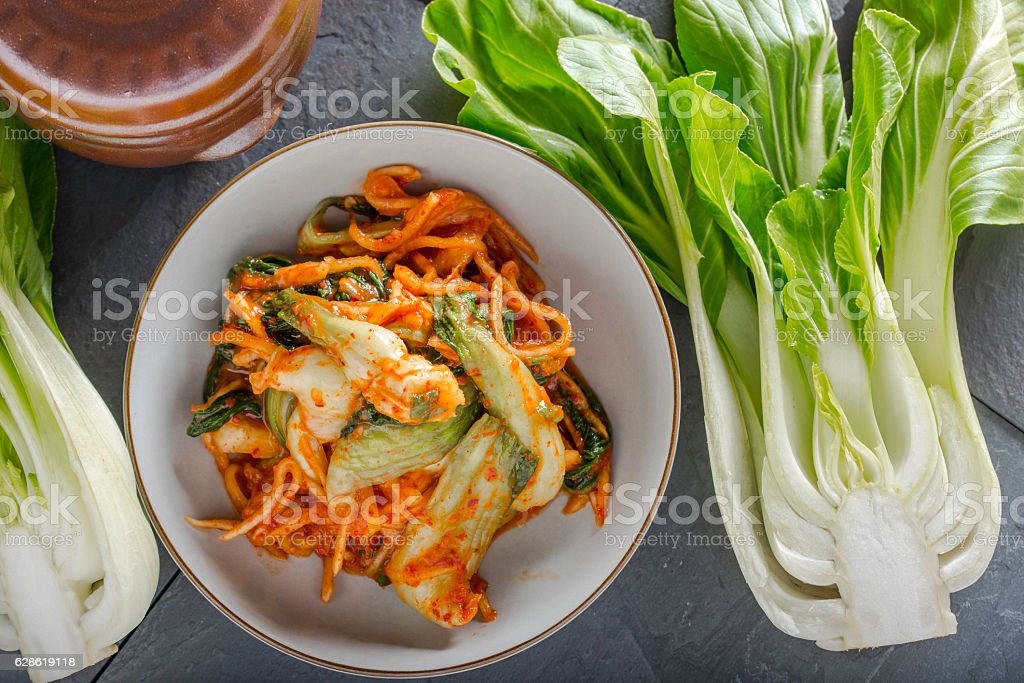 Fresh Kimchi stock photo