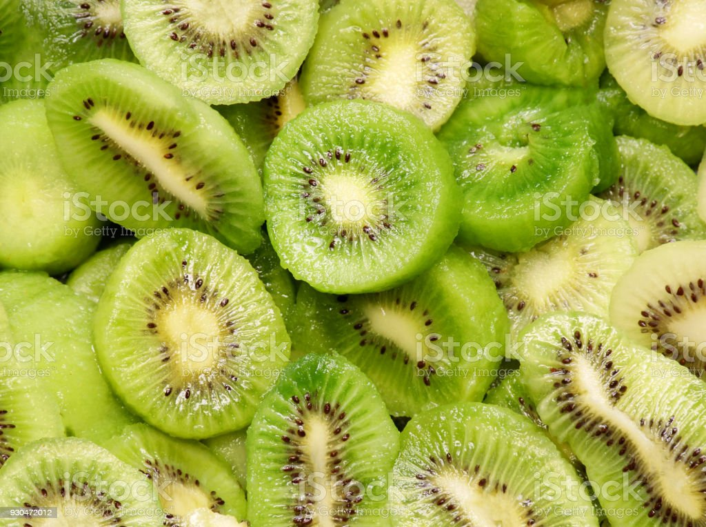 fresh Kiwi fruit, close-up stock photo