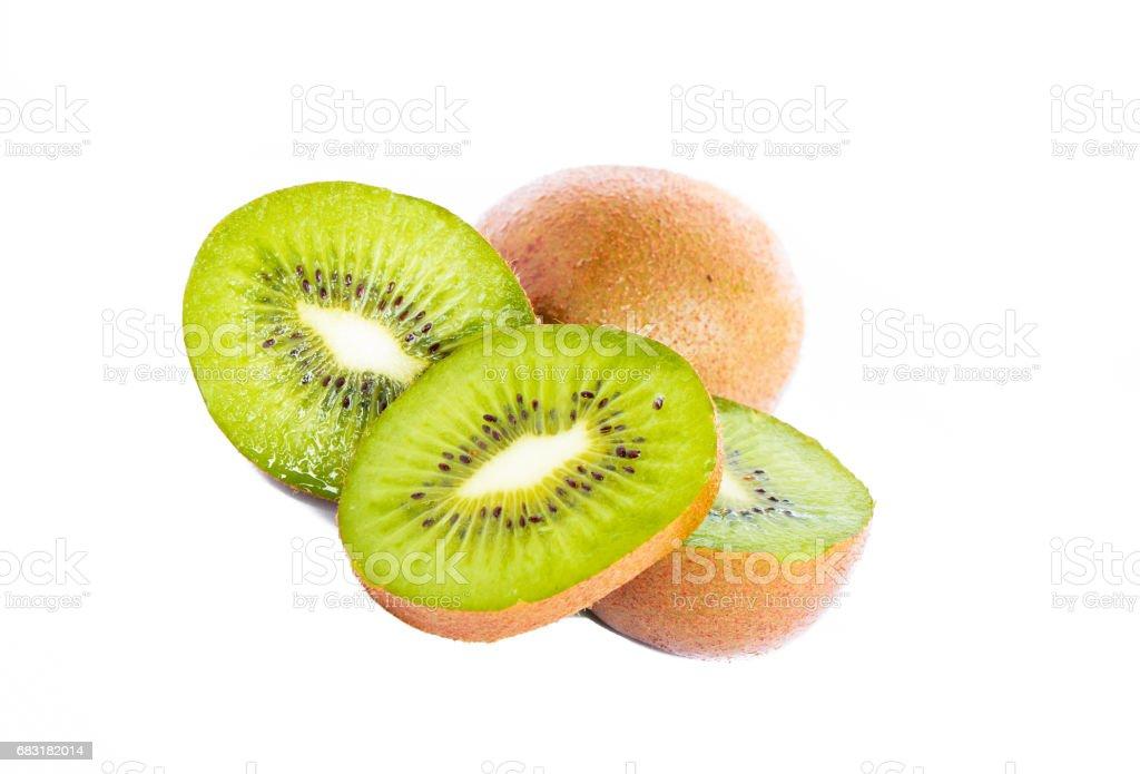 Fresh kiwi fruit 免版稅 stock photo