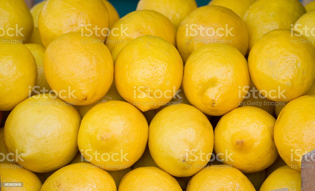 Fresh Lemons royalty-free stock photo