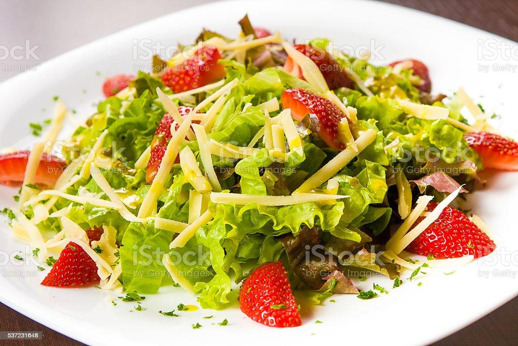Fresh Lettuce Salad stock photo
