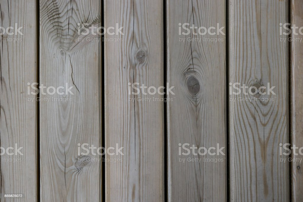 Fresh light non painted  wooden boards, background texture stock photo