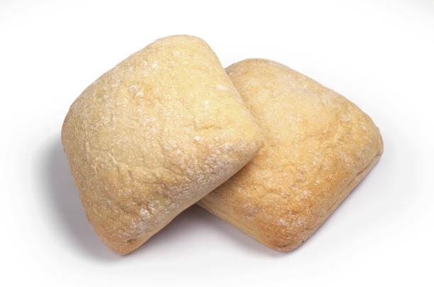 신선한 빵 ciabatta의 - 치아바타 빵 뉴스 사진 이미지