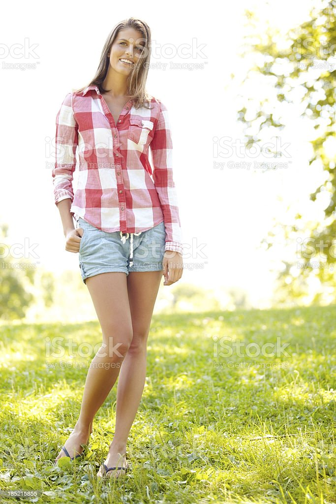 Fresh look for spring royalty-free stock photo
